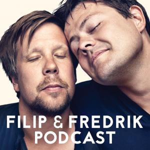 Filip & Fredrik podcast logo