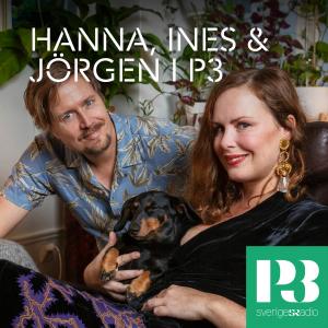Hanna Hellquist, Ines och Jörgen Lötgård i P3 logo